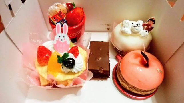 連休中にル・パティシエ・ヨコヤマでかわいいケーキを5つ